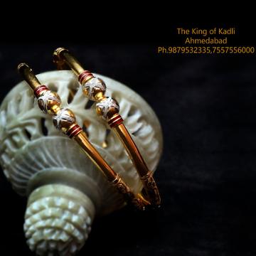 916 Gold Antique Modhiya Kadli Bangle