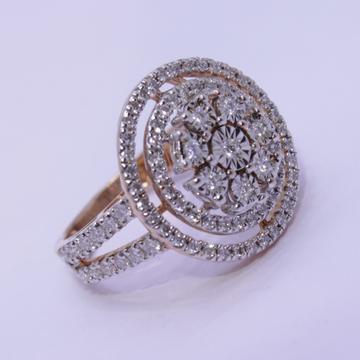 18K gold diamond ring agj-lr-308