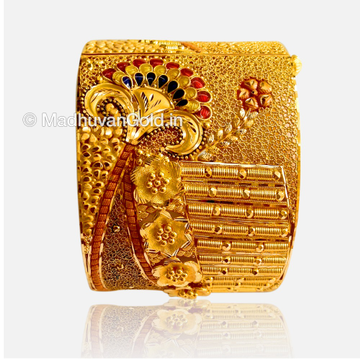 22K Gold Fancy Bangles (Kada)
