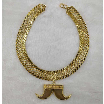 Artificial vaghnakh gold Pendant Chain