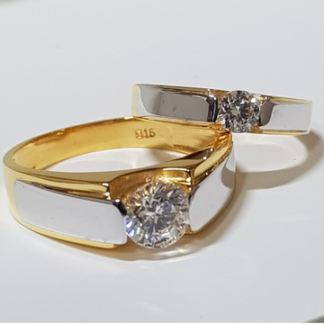 22 CT GOLD COUPLE RING FOR ENGAGEMENT