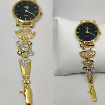 18k Ladies Fancy Gold Indian Watch G-2239
