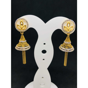 916 Ladies Fancy Gold Earring Er-60053