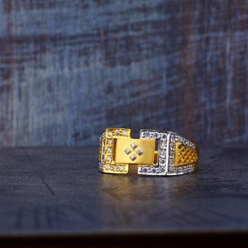 22ct Designer Gold Ring MR498
