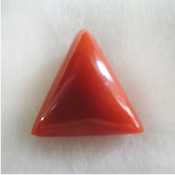 4.64ct triangle natural red-coral (mungaa) KBG-C35