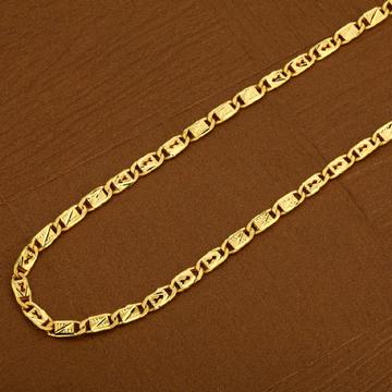 916 Gold Nawabi Mens Chain-MNC12