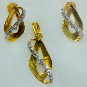 916 singapuri pendant set