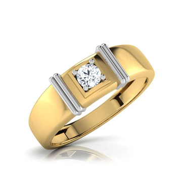916 Gold Fancy Diamond Ring