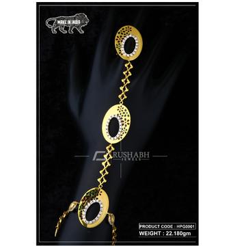 22 Carat 916 Gold Ladies hath panja  hpg0001 by