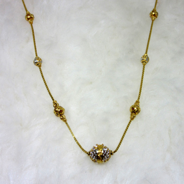 Gold ball classic chain