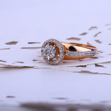 Ladies Fancy Rose Gold Ring-RLR61