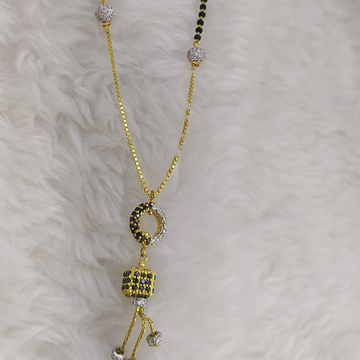22kt Gold Fancy Mangalsutra by