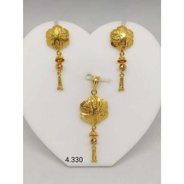 18 K Gold Pendant Set. nj-p01178