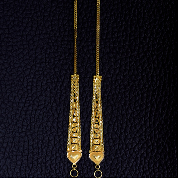 22K EARRINGS CHAIN