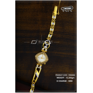 18 Carat Gold Ladies gold watch ywg0002