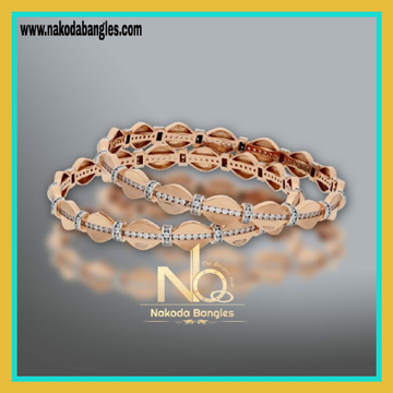 76 Gold Rose Gold Bangles NB-143