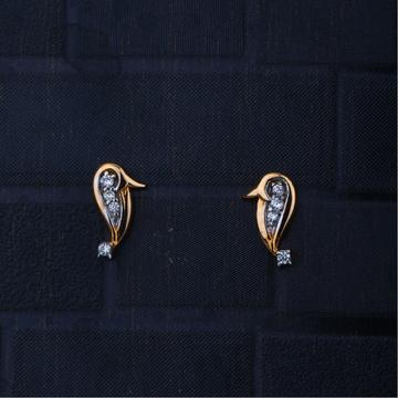 gold cZ adorable Design Earring
