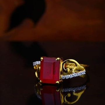 22Kt Gold Rubi Ladies Rings RH-LR55