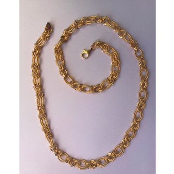 22Kt Gold Designer Chain For Men DC-C006