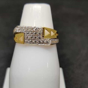 22k Gents Fancy Gold Ring Gr-28607