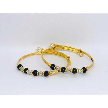 22k Fancy Gold Baccha Kadli B-53002