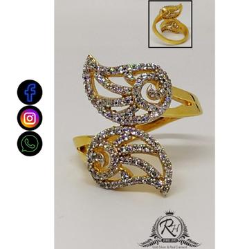 22 carat gold antique daimond ladies rings RH-LR403