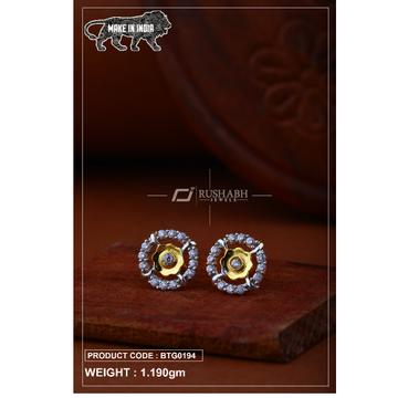 18 carat gold Ladies round tops btg0194 by