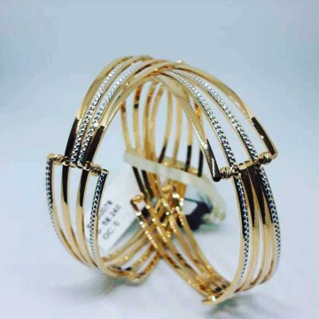 22K Gold CNC Bangles NJ-B031