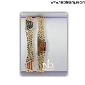 916 Gold CNC Bangles NB - 1404