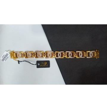 Classic One Gram Gold CZ Bracelet AO-B018