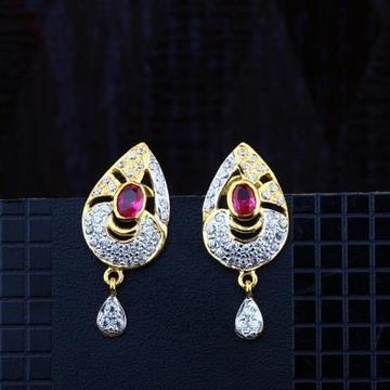 916 Gold CZ Earring RH-ER082