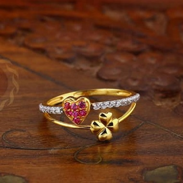 916 Gold Ladies Ring LR-0034