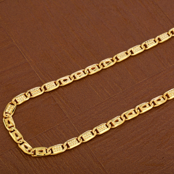 Mens 916 Nawabi Gold Chain-MNC41