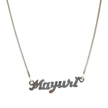 Silver chain pendant mga - CP005