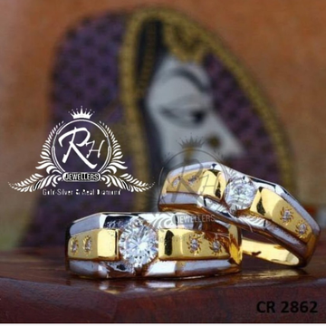 22 carat gold love couple rings RH-CR819