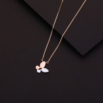 Chain with pendent fancy rosegold by