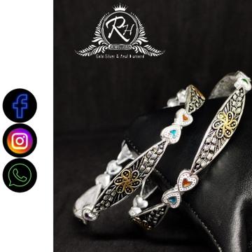silver classical ladies kada RH-LK465