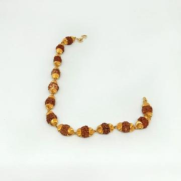 916 Gold Rudraksh Lucky Bracelet MJ-B003