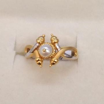 22KTGold Stylish Design Hallmark Ring For Women  by