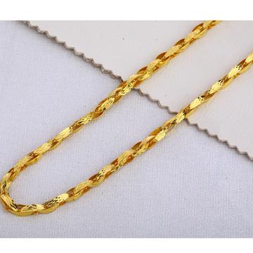 916 Gold Men's Hallmark Gorgeous Choco Chain MCH393