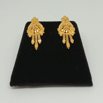22KT Gold Earrings For Women MJ-E006