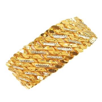 One gram gold forming singapore bracelet mga - bre0031