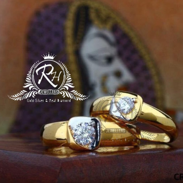 22 carat gold classic couple rings RH-CR813