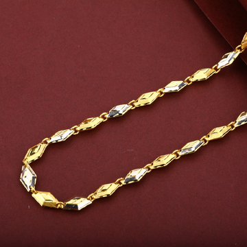 Mens 22k Turkey Design Gold Chain-MTC25