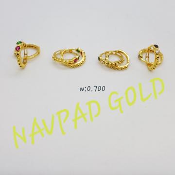 18kt gold salman bali ng-wb3465