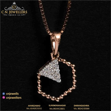PENDENT ROSEGOLD 18CT by
