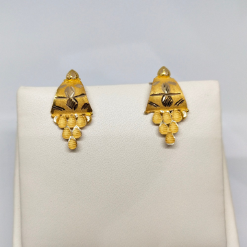 18Kt gold fancy earring dj-e015