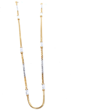 22KT / 916 Gold two Petain in chain delicate chain for Ladies CHG0295