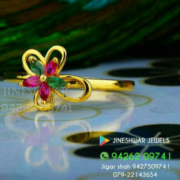 Color Stone Daily Were Ladies Ring LRG -0299