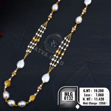 916 gold mala MLG-0132